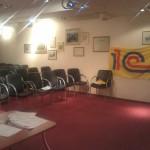 Наш зал первого дня тренинга-семинара.